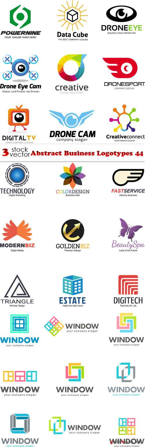 Vectors - Abstract Business Logotypes 44