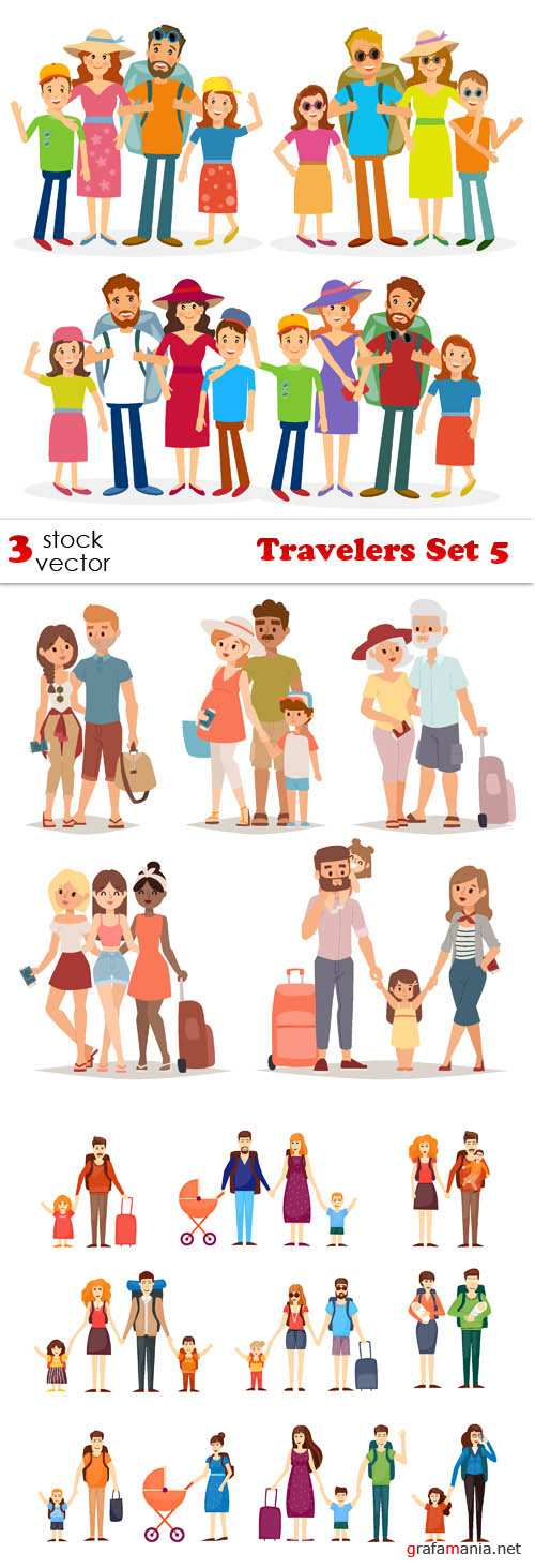 Vectors - Travelers Set 5