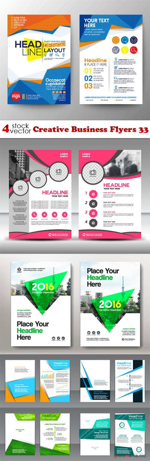 Vectors - Creative Business Flyers 33