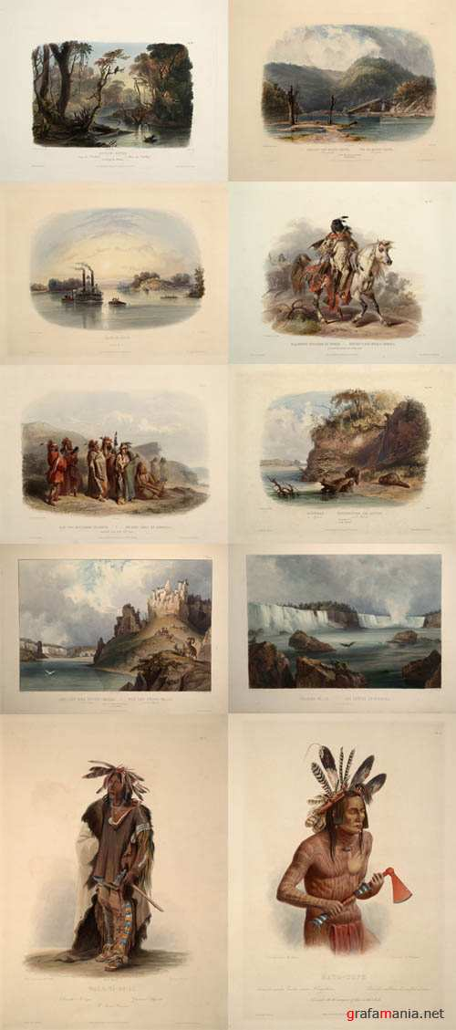 Karl Bodmer - Travels in the Interior of North America