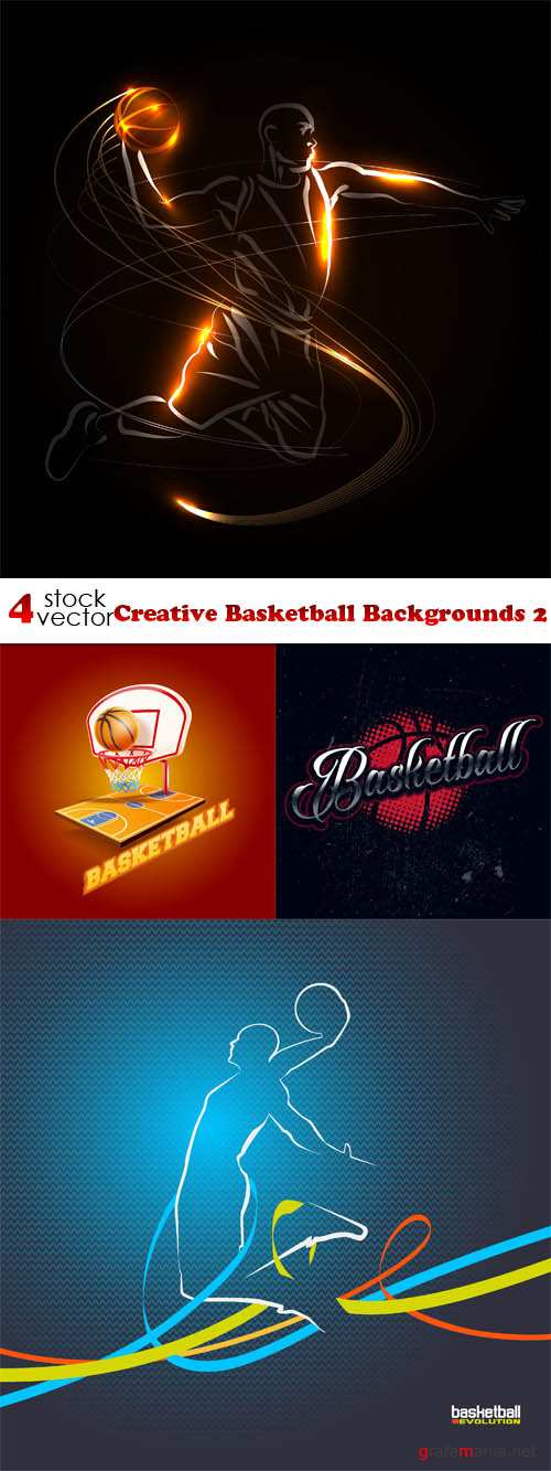 Vectors - Creative Basketball Backgrounds 2
