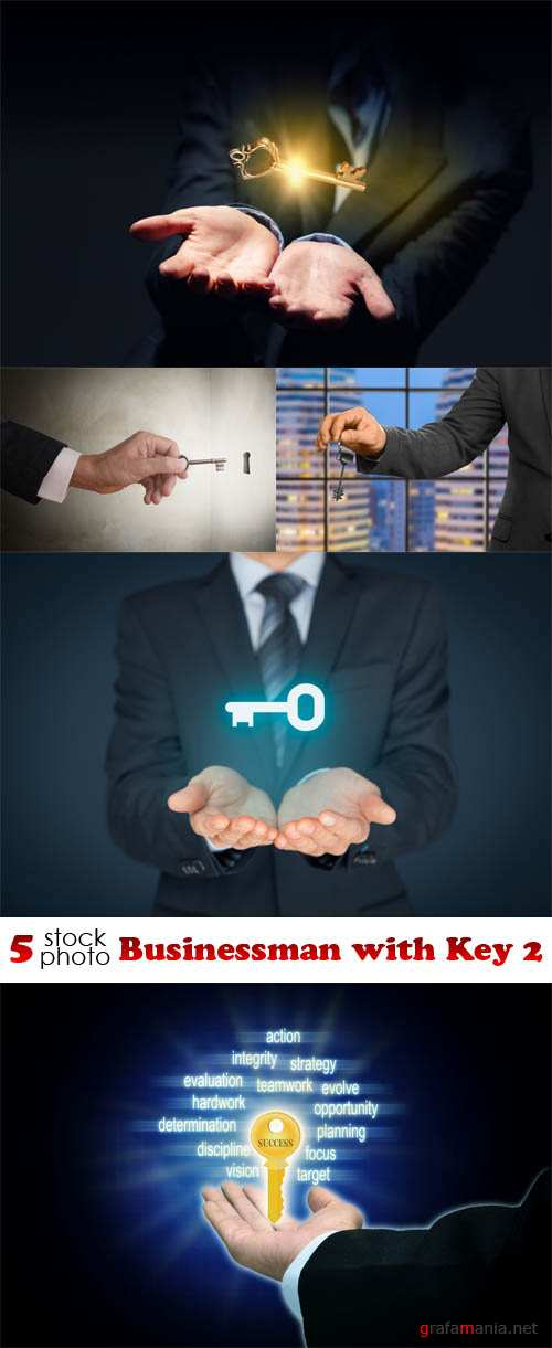 Photos - Businessman with Key 2