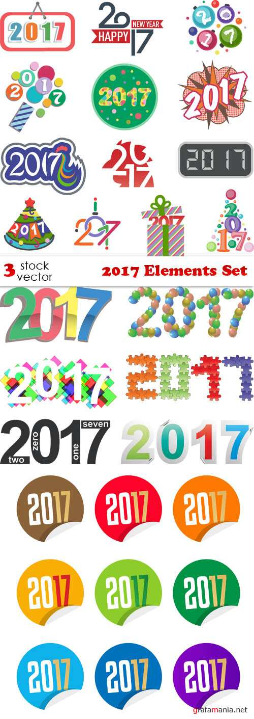 Vectors - 2017 Elements Set