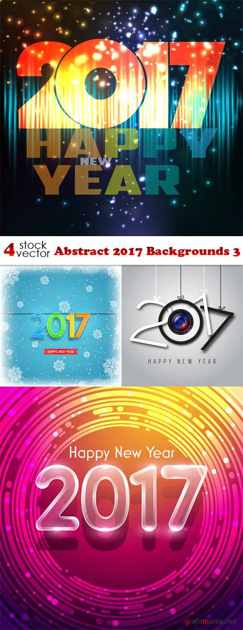 Vectors - Abstract 2017 Backgrounds 3