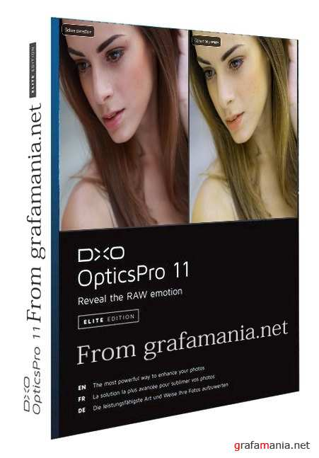 DxO Optics Pro 11.3.1 v/ 11813 Elite Edition (win x64 bit)