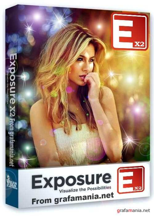 Alien Skin Exposure X2 (2.2.0.429 v/ 35410 win x64 bit) plugin for Adobe Photoshop