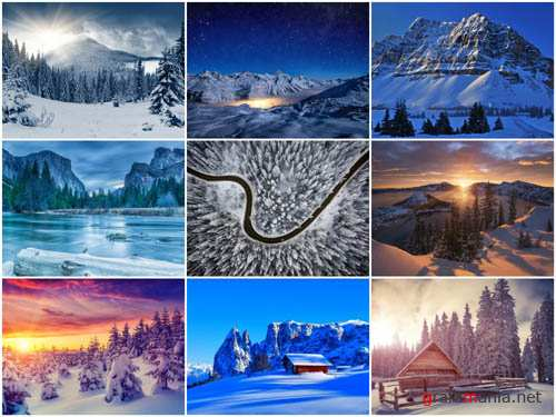 90 Winter Landscapes HD Wallpapers