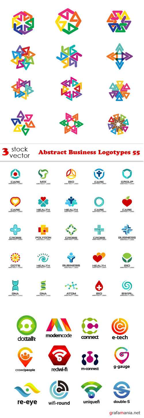 Vectors - Abstract Business Logotypes 55