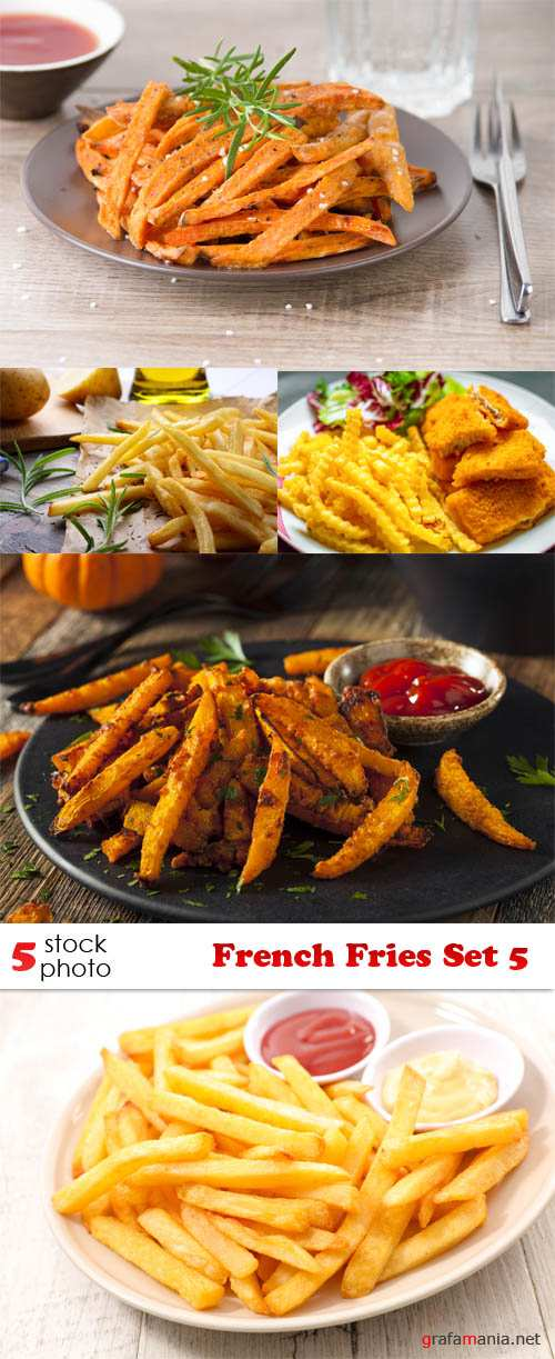 Photos - French Fries Set 5