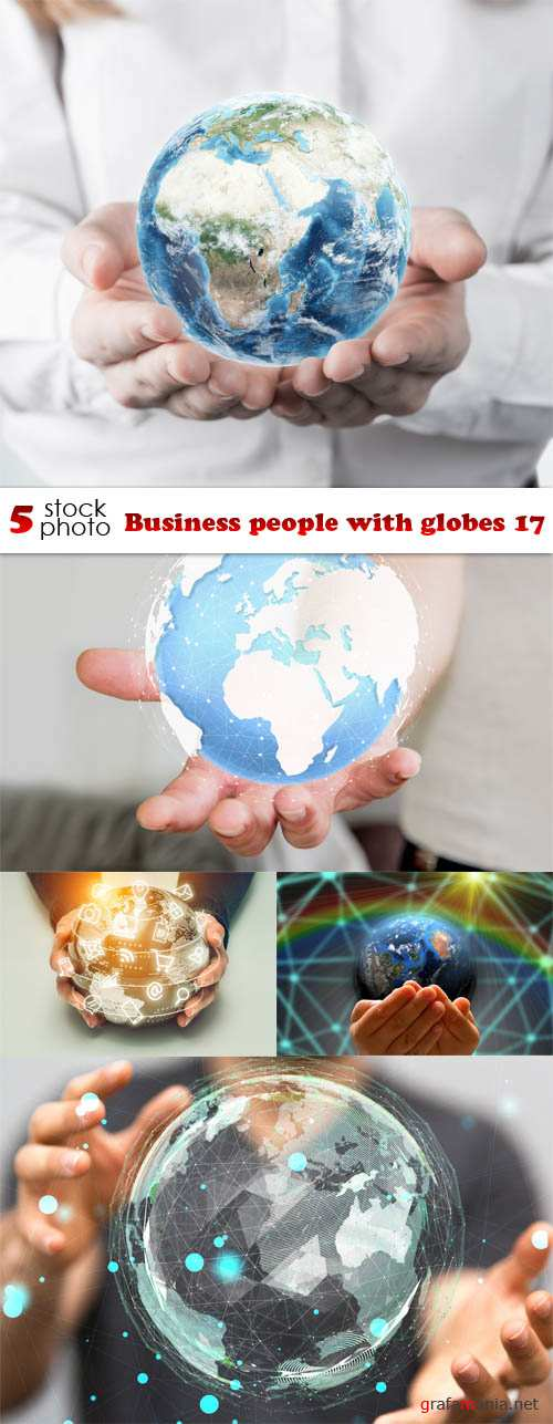 Photos - Business people with globes 17