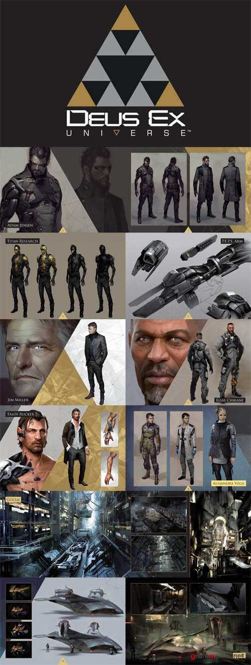 Art of Deus Ex mini artbook