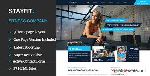 ThemeForest - Stayfit - Sports, Health, Gym & Fitness HTML Template (Update: 19 November 15) - 11834485