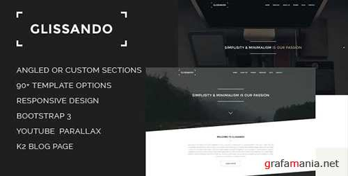 ThemeForest - Glissando v1.1 - Creative and Minimal Joomla Template - 8140682
