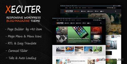 ThemeForest - Xecuter v1.1 - Responsive WordPress Blog Magazine Theme - 19476944