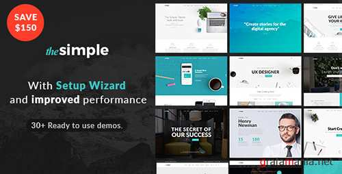 ThemeForest - The Simple v1.1.2 - Responsive Multi-Purpose Business Theme - 18406495