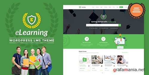 ThemeForest - LMS WordPress Theme - eLearning WP v2.4.4 - 11797847