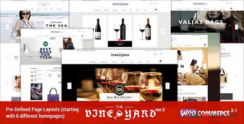 Themeforest - Responsive WooCommerce Theme - WineStore v2.3 - 6511128