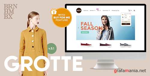 ThemeForest - Grotte v3.1 - A Dedicated WooCommerce Theme - 12628294