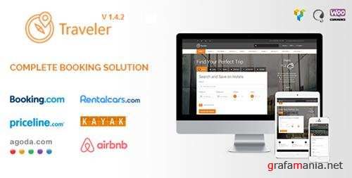 Traveler v1.4.2 - Travel/Tour/Booking WordPress Theme - 10822683