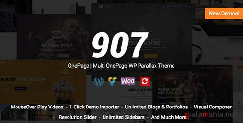 907 v4.0.22 - Responsive Multi-Purpose WordPress Theme - 4087140
