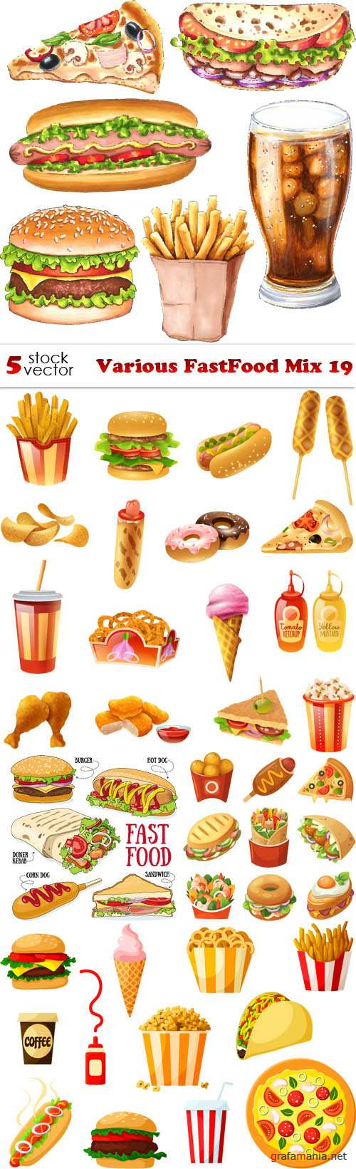 Vectors - Various FastFood Mix 19