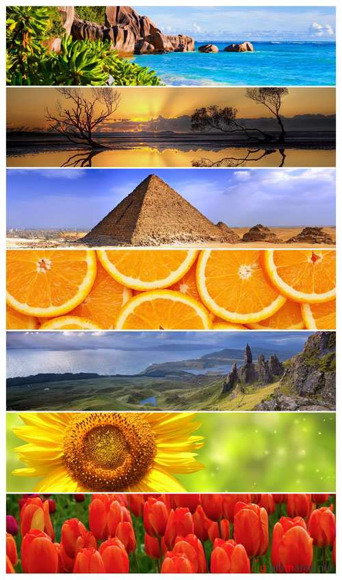 Mixed Panoramics Wallpaper Pack 32