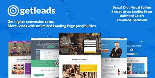 ThemeForest - Getleads v1.4 - High-Performance Landing Page WordPress Theme - 16264835