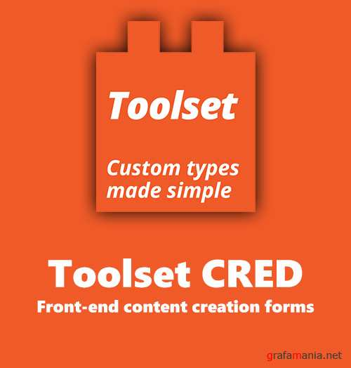 Wp-Types - Toolset CRED v1.8.8 - Front-end content creation forms