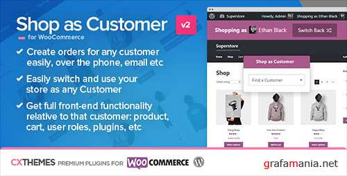 CodeCanyon - Shop as Customer for WooCommerce v2.07 - 7043722