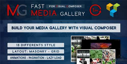 CodeCanyon - Fast Media Gallery For Visual Composer v1.0 - Wordpress Plugin - 14859307