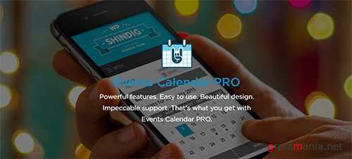 The Events Calendar Pro v4.4.5 - WordPress Plugin