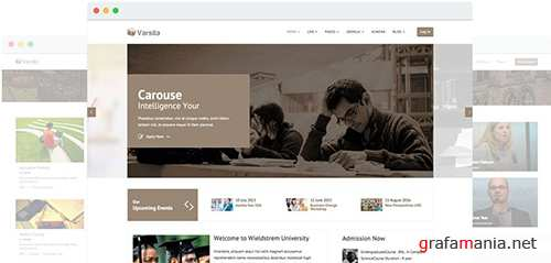 JoomShaper - Varsita v2.6 - Education Joomla Template with LMS