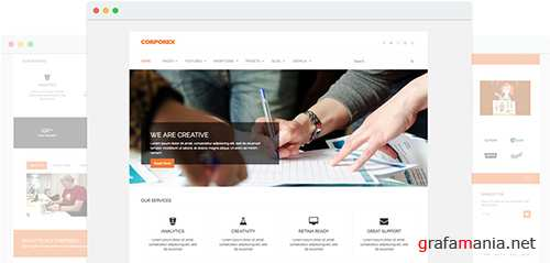 JoomShaper - Corporex v1.3 - Agency & Business Joomla Template