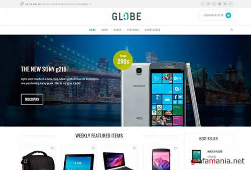 YiThemes - YITH Globe v1.1.11 - Hi-tech WordPress E-commerce Theme