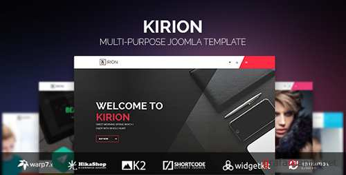 ThemeForest - Kirion v1.1.2 - Multipurpose Joomla Template - 13628950