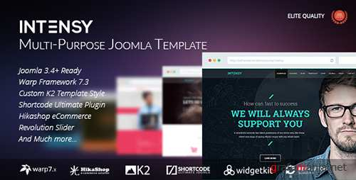 ThemeForest - Intensy v1.5.2 - Multipurpose Joomla Template - 12336541