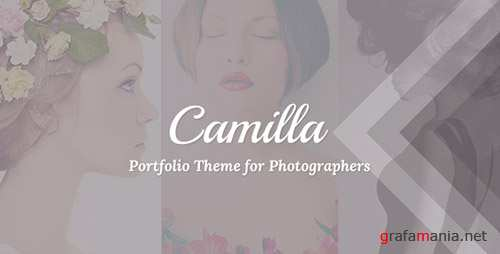 ThemeForest - Camilla v2.2.2 - Horizontal Fullscreen Photography Theme! - 6565762