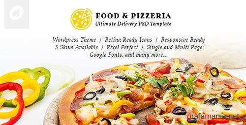 ThemeForest - Food & Pizzeria v1.0.9 - Ultimate Delivery WordPress Theme - 13547531