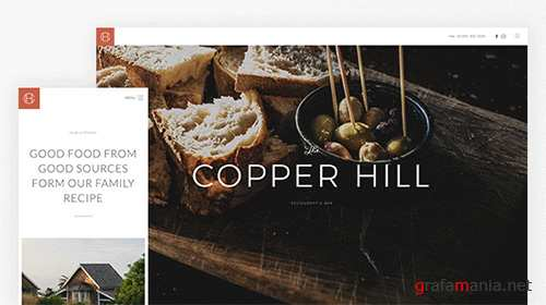 YooTheme - Copper Hill v1.5.0 - Joomla Template