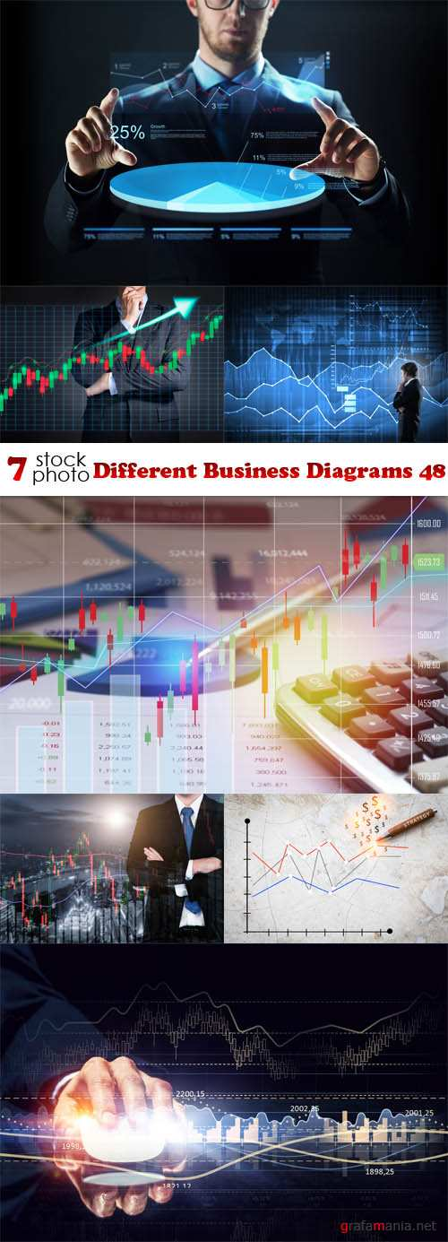 Photos - Different Business Diagrams 48