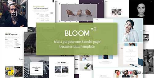 ThemeForest - Bloom v2.0 - One & Multi Page Business HTML Template - 17603004