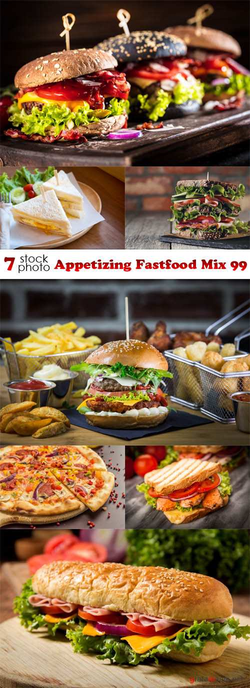 Photos - Appetizing Fastfood Mix 99