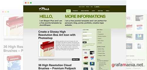 JoomShaper - Plus v1.0 - Multipurpose Joomla Template