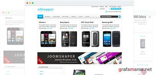 JoomShaper - Eshopper v1.0 - Joomla Ecommerce Solution