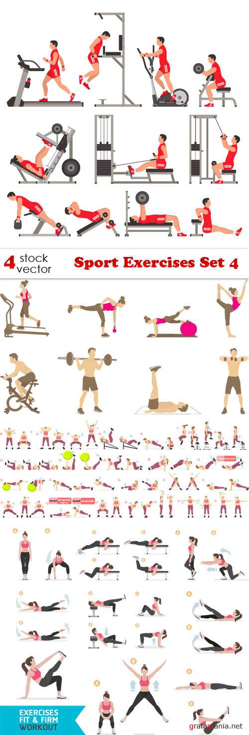 Vectors - Sport Exercises Set 4