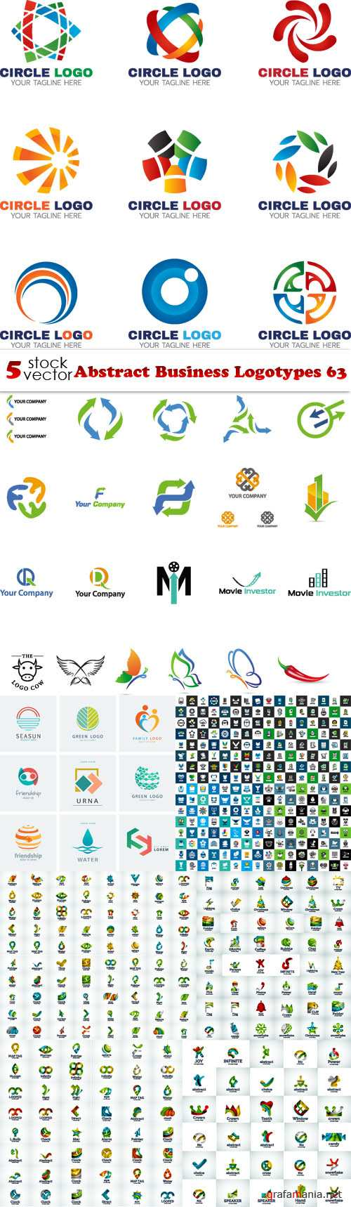 Vectors - Abstract Business Logotypes 63