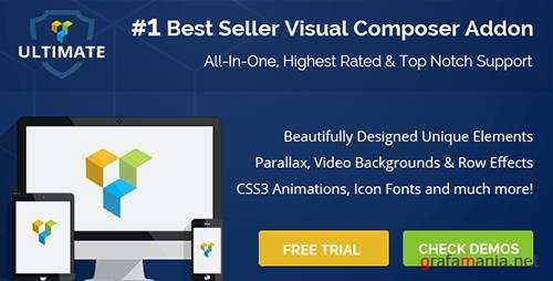 CodeCanyon - Ultimate Addons for Visual Composer v3.16.10 - 6892199