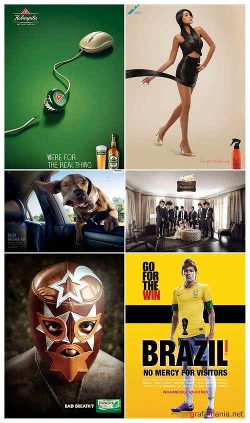 50 Advertising prints 5