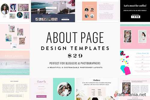 About Page Template Bundle - CM 1354712