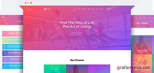 JoomShaper - Yoga v1.0 - Gym, spa, fitness club Joomla template